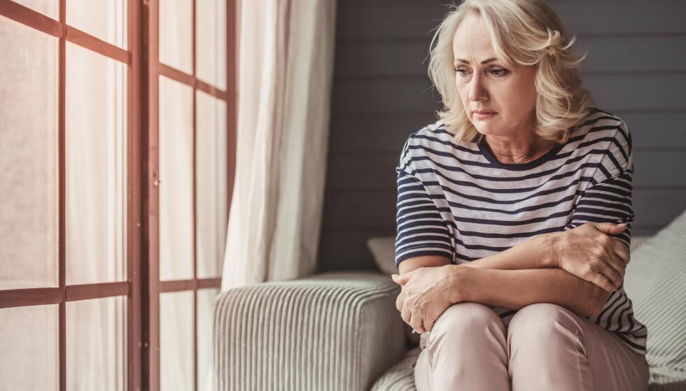 REDUSERT LIVSKVALITET: Skjoldbruskkjertelproblemer påvirker livet til de som rammes. Foto: Shutterstock NTB