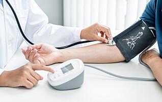 Disse har risiko for høyt blodtrykk