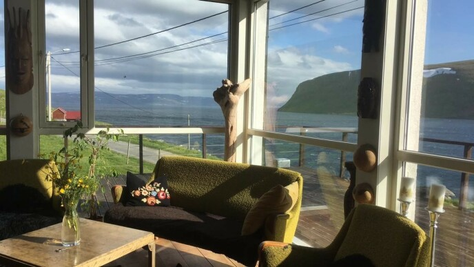 HER KAN DU BO: Du kan bo hjemme hos familien Sætereng. Her utsikt fra huset. Foto: Privat