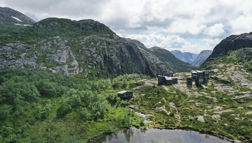 DESIGN I FJELLHEIMEN: Unike DNT-hytter med fokus på design – velkommen til Nye Skåpet! Foto: Ronny Frimann