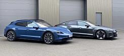 Porsche Taycan møter Audi RS e-tron GT: Umulig å gjøre feil!