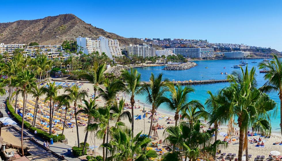 GRAN CANARIA ER STORFAVORITT: Voksne som skal på ferie i høst og vinter, vil til Gran Canaria. De vil bo bra - og helst på kjente steder. Foto: Shutterstock/NTB