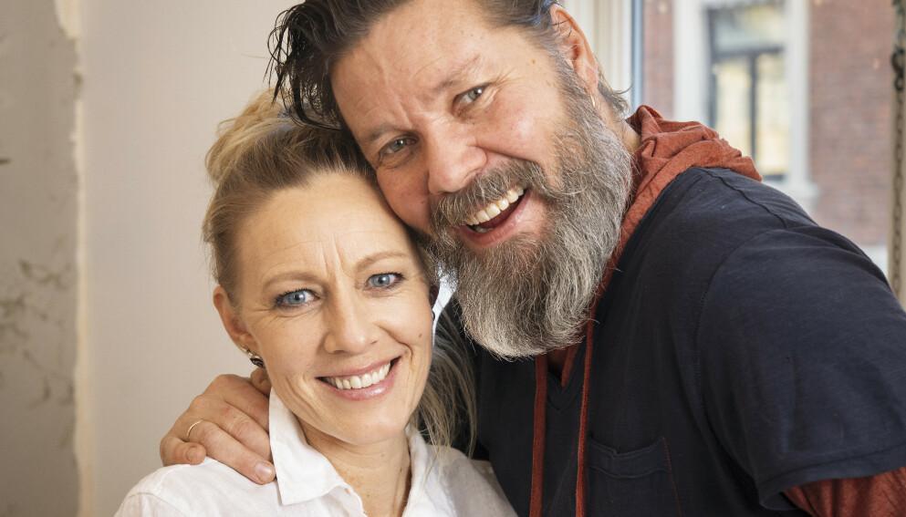 17 ÅR I TOSOMHET: Da Sølje Bergman ble kjæreste med Stig Henrik Hoff, følte hun behov for å vise fram alle sine dårlige sider. Det har gjort forholdet deres sterkere, tror hun. Foto: Espen Solli