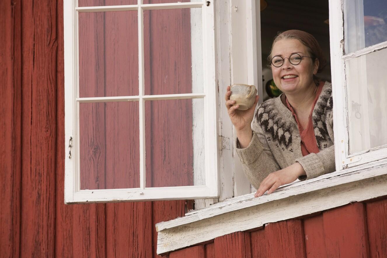 DET GODE LIV: Anne føler seg at hun har funnet sin plass i livet på de tre kafeene hun driver i Oslo. Følelsen av å være på plass, være hjemme, betyr alt for henne.
