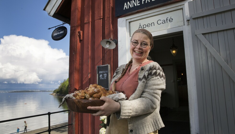 NY KARRIERE: Siden Anne Gravingen (50) var liten, har god, hjemmelaget mat vært viktig. Nå elsker hun å kunne dele dette videre fra de tre kafeene hun og ektemannen driver i Oslo.