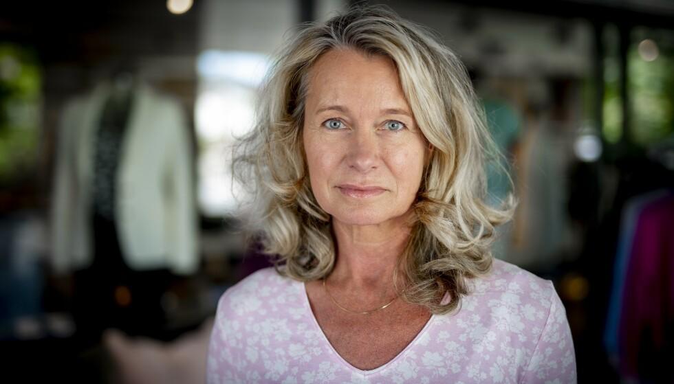 PROLAPS I NAKKEN: Karin Helena Engström fikk prolaps i nakken. – Smertene var forferdelige, sier hun. Foto: Bjørn Langsem/Dagbladet