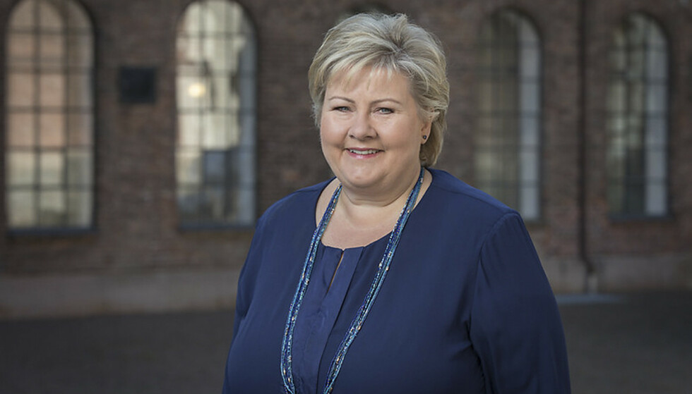 Partileder Erna Solberg. Foto: NTB