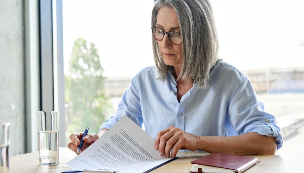 DISKRIMINERT AV ARBEIDSGIVER? Se hva du kan gjøre dersom du tror du ikke fikk en jobb på grunn av aldersdiskriminering. Foto: NTB