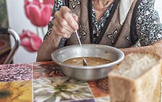 Får for lite næring på sykehjem