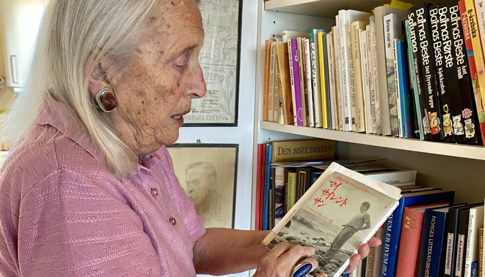 SØNNENS BOK: Tordis Ørjasæter har skrevet flere bøker om livet med sin autistiske sønn Dag Tore. Den første ble oversatt til en rekke språk, blant annet japansk.
