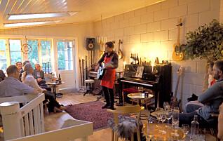 Bjørn driver restaurant hjemme i egen stue