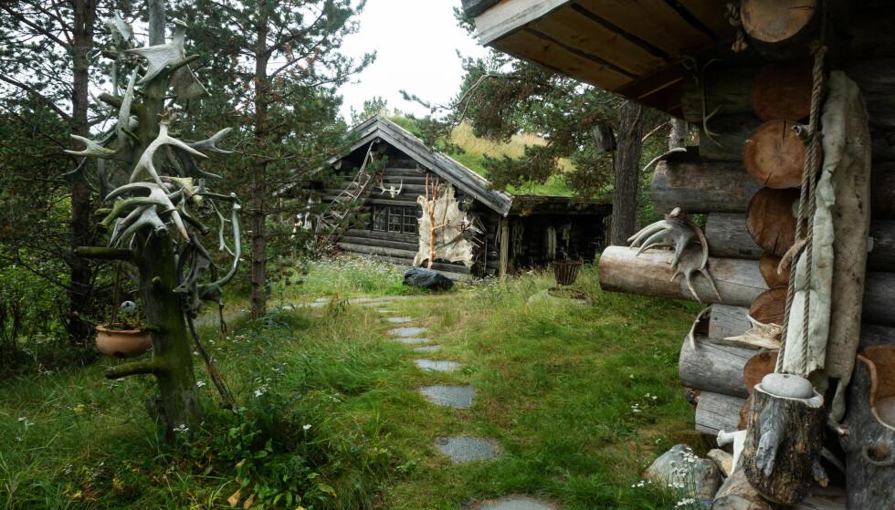 LODGEN I KARASJOK: Siden 80-tallet har stedet til Sven Engholm vokst frem. Foto: Siri Wolland