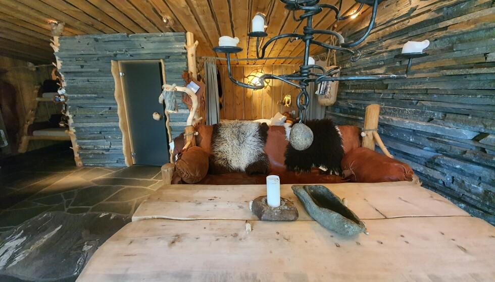 Laftede hytter med egne, smarte løsninger er et kjennetegn hos Engholm. Foto: Siri Wolland