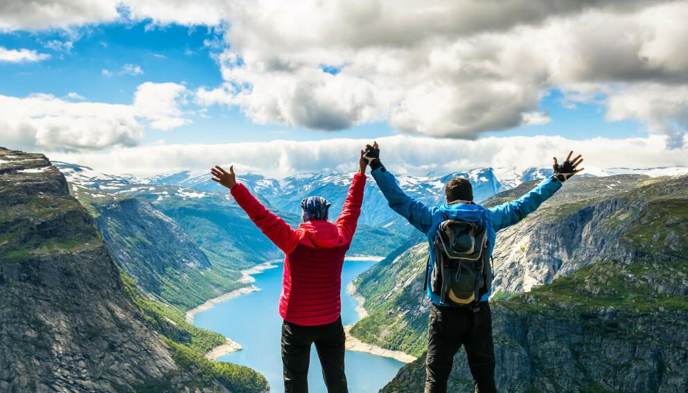 FJELLQUIZ: Test kunnskapen din om norske fjell og toppturer. Lykke til, og god tur! Foto: NTB