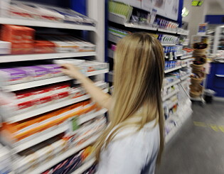 Image: Prissjokk på apotekvarer