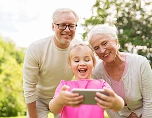 Image: Den beste måten å spare til barnebarna på
