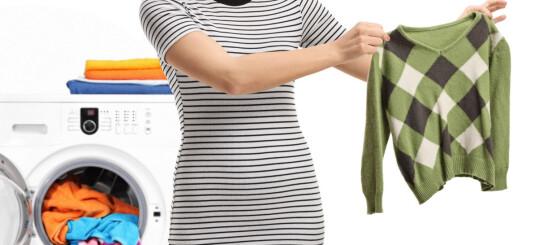 Image: Joda, det er mulig å redde ullplagg som har krympet