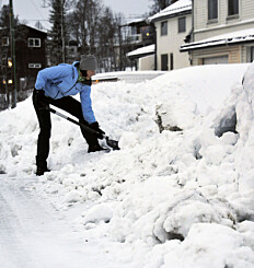 Image: Dette gjør du hvis naboen nekter å måke snø