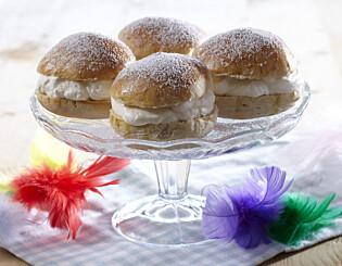Image: Hvorfor i all verden spiser vi boller med krem til fastelavn?