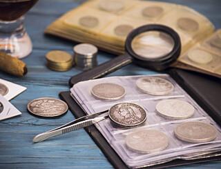 Image: Mistet mynt verdt 25 millioner