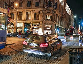 Image: Da kvinnen skulle til tannlegen midt på natta, reagerte taxisjåføren