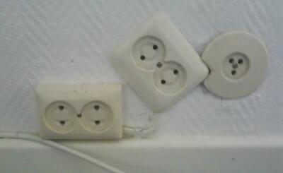 Image: – Her har noen åpenbart tenkt at de ikke trenger elektriker