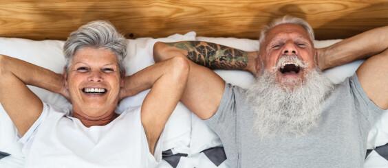 Image: - Vi må legge om sexlivet etter at han begynte med potenspiller