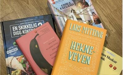 Image: Bøkene vi vil mure oss inne med nå