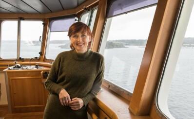 Image: Marit (59) er fiskebåtreder og flyvertinne