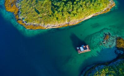 Image: - Som Bora Bora, bare kaldere