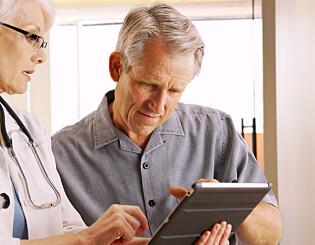 Image: Pasienter forstår ikke hva legen sier