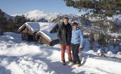 Image: Bygget hytte tilpasset alderdommen