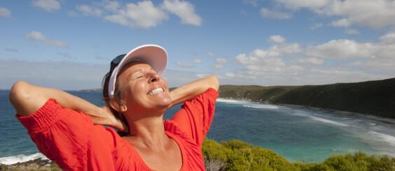 Image: Sol kan forverre plager ved overgangsalder