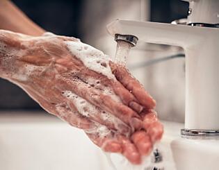 Image: Dropper håndvask etter dobesøk
