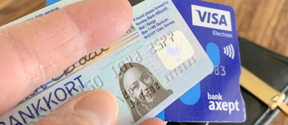 Image: Store bankkort-endringer