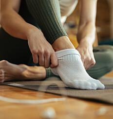 Image: Hvis merkene etter sokkene ikke går vekk, bør du sjekke hjertet ditt
