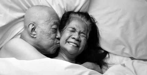 Image: Parene lot seg fotografere i intime situasjoner