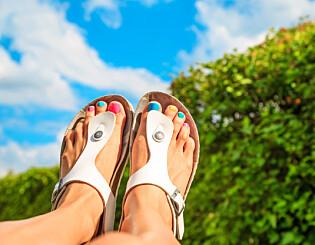 Image: Advarer mot sandaler som dette