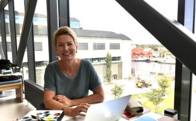 Image: Som 53-åring begynner Cecilie Kjensli helt på nytt. - Jeg er helt frelst