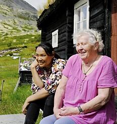 Image: - Her i bygda møtte jeg en helt annerledes verden