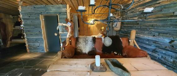 Image: Lodgen i Karasjok: Her har «hippien» fra Skåne gjort alt selv